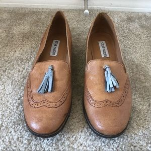 Steven Madden Loafer Flats with Cute Tassels